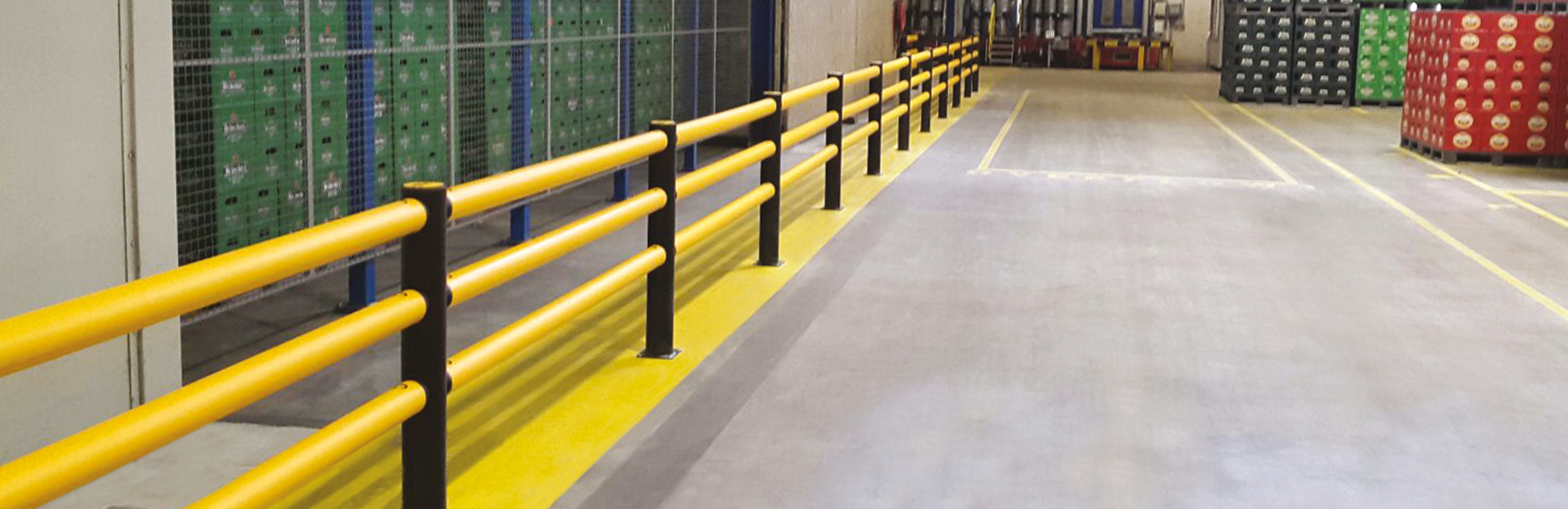 "<p>""I knew the minute I saw the A-SAFE barrier product at the Pro-Mat show that it would be a great fit in our new facility. We installed a small section of the A-SAFE barrier and instructed our industrial lift truck drivers to drive into the barrier. It was a 'smashing' success.""</p>"