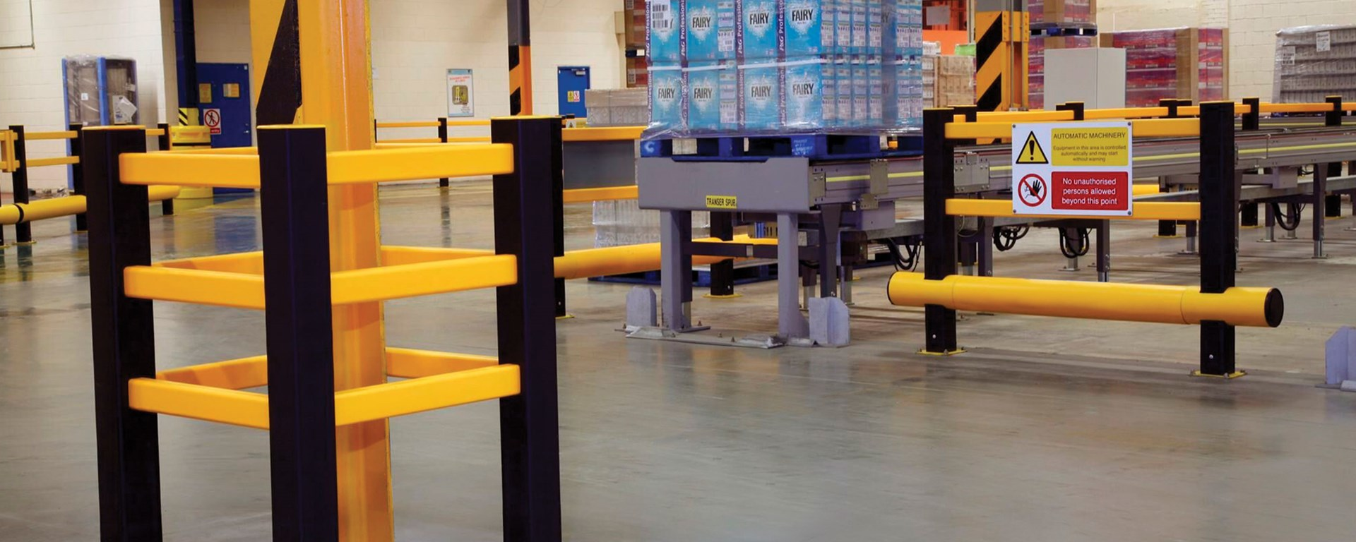 Warehousing | Traffic protection solution for distribution centre