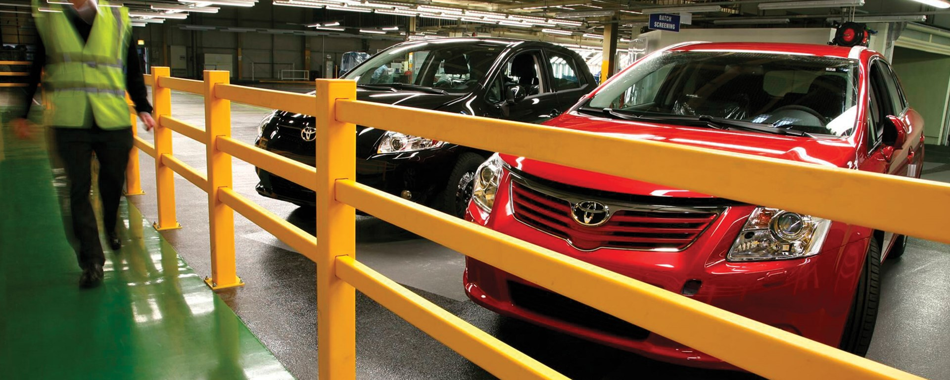 Manufacturing | Pedestrian safeguarding solutions for Toyota manufacturing plant