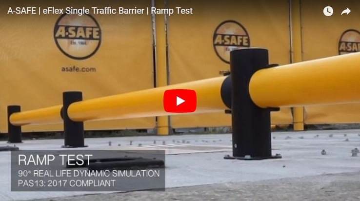 eFlex Single Traffic Barrier