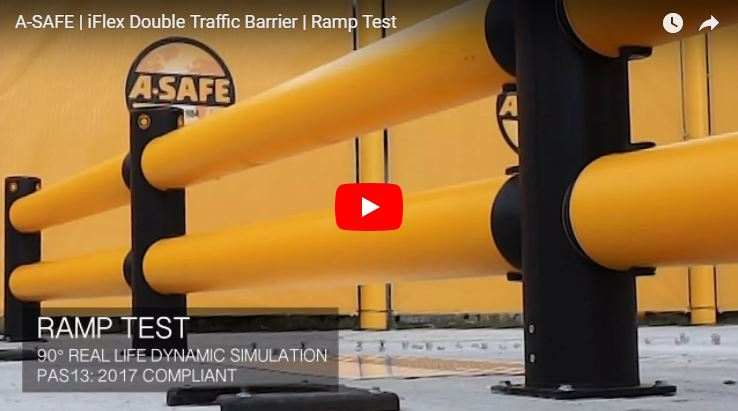 iFlex Double Traffic Guardrail
