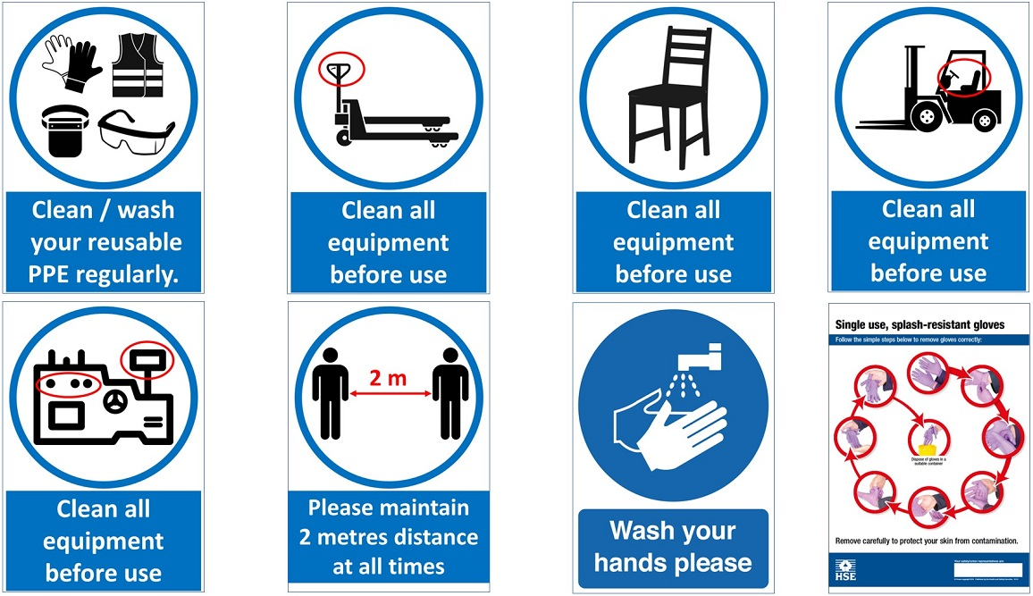 A SAFE Hygiene And Safety In The Workplace Cleaning Your Facility Image 6